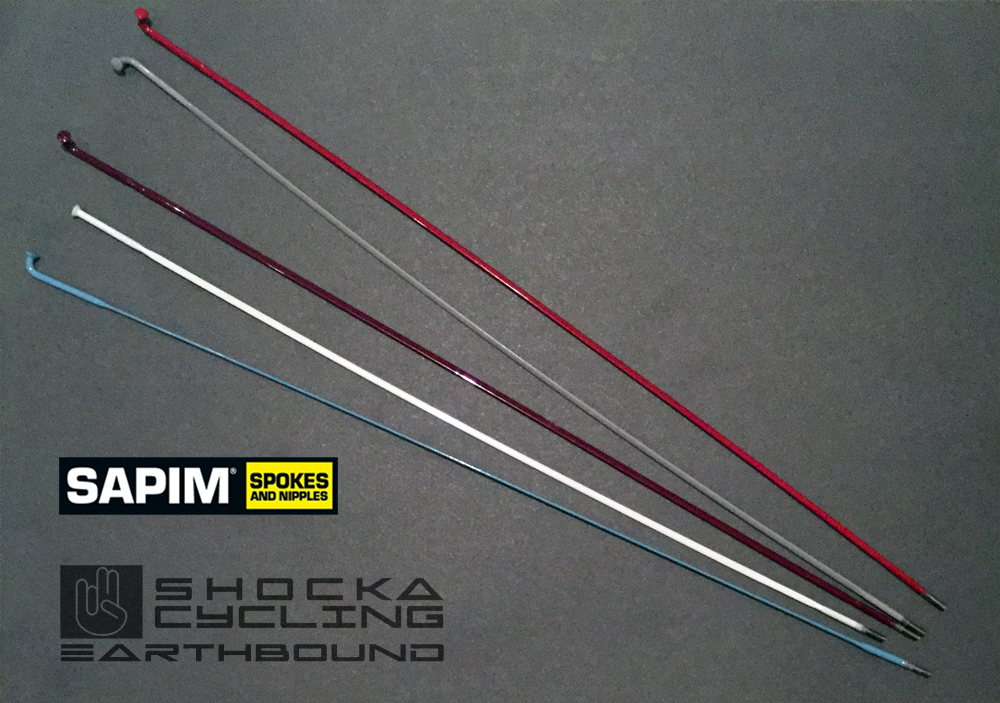 Shocka Powder-coated Coloured Spokes
